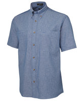 JB's S/S Cotton Chambray Shirt