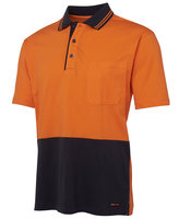 JB's Hi Vis S/S Cotton Polo