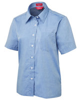 JB's Ladies S/S Fine Chambray Shirt