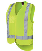 JB's HV D/Tail Safet Vest(D+N) Lime S