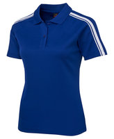 Podium Ladies Dual Stripe Polo