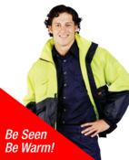 Hi Vis  Artic Jacket