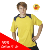 100% Cotton Hi-Vis T-Shirt