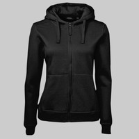 JB's Ladies Full Zip Fleece Hoodie