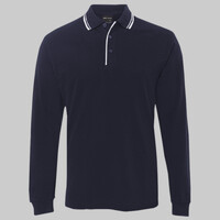 JB's L/S Contrast Polo