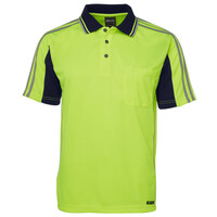 JB's Hi Vis S/S Arm Tape Polo