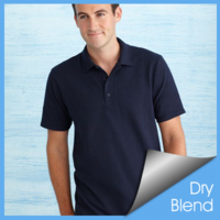 Gildan 94800 Dry Blend Adult Pique Sport Shirt