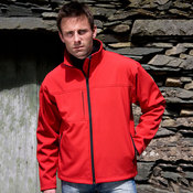 Mens Classic Soft Shell Jacket