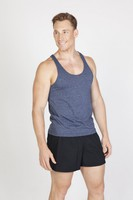 Mens Greatness Athletic T-Back Singlet