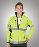 Hi-Viz Soft Shell Jacket Day/Night Use