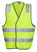 HI-VIZ SAFETY DAY/NIGHT VEST
