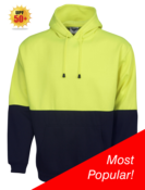 BB Hi Viz Hoodie With Pouch