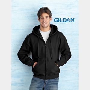 Heavy Blend Adult Full Zip Hooded Sweatshirt Thumbnail