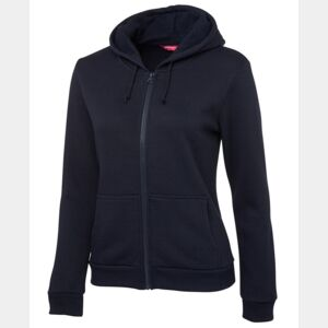 Ladies P/C Full Zip Hoodie Thumbnail