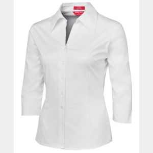 Ladies 3/4 Fitted Shirt Thumbnail