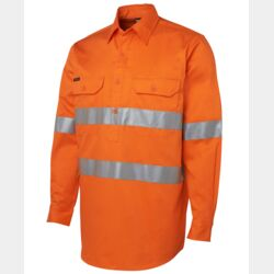Hi Vis (D+N) Close Front L/S Shirt Thumbnail