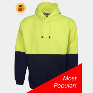 Hi Viz Hoodie With Pouch Thumbnail