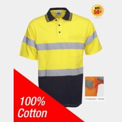 100% Cotton Day/Night Hi Vis Polo Thumbnail