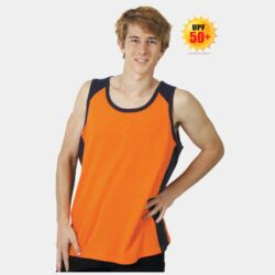 Hi Vis Cool Dry Action Singlet Thumbnail