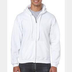 Gildan 18600 Heavy Blend Adult Full Zip Hooded Sweatshirt Thumbnail