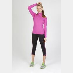 Ladies Greatness Half-Zip Mock Neck Thumbnail