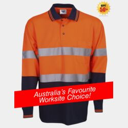 Day / Night Hi Vis Cooldry Polo - Long Sleeve Thumbnail