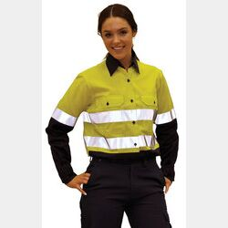 Female Day/Night Long Sleeve Safety Shirt Thumbnail