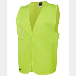 JB's Hi Vis Zip Safety Vest Thumbnail