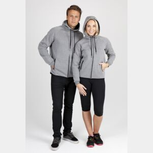 Soft cotton/bonded polar fleece Hoodie Thumbnail