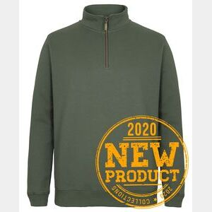 C OF C 1/2 BRASS ZIP SWEAT Thumbnail