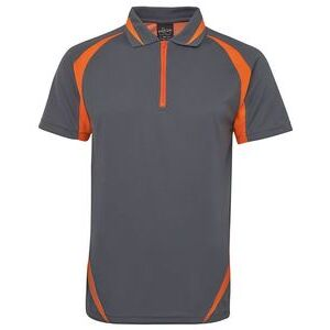 Podium Zip Poly Polo Thumbnail