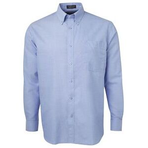 JB's L/S Oxford Shirt Lt Blue Thumbnail