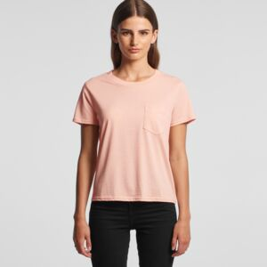 Women's Square Pocket Tee Thumbnail