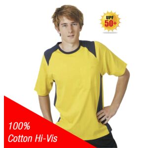 100% Cotton Hi-Vis T-Shirt Thumbnail