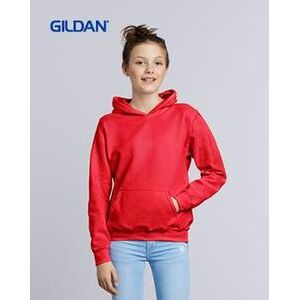 Gildan 18500B Heavy Blend Youth Hooded Sweatshirt Thumbnail