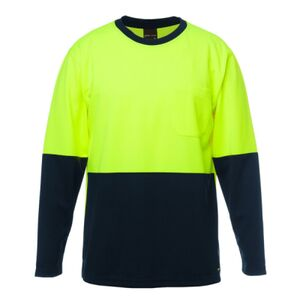 JB'S HI VIS LONG SLEEVE TRADITIONAL T-SHIRT Thumbnail